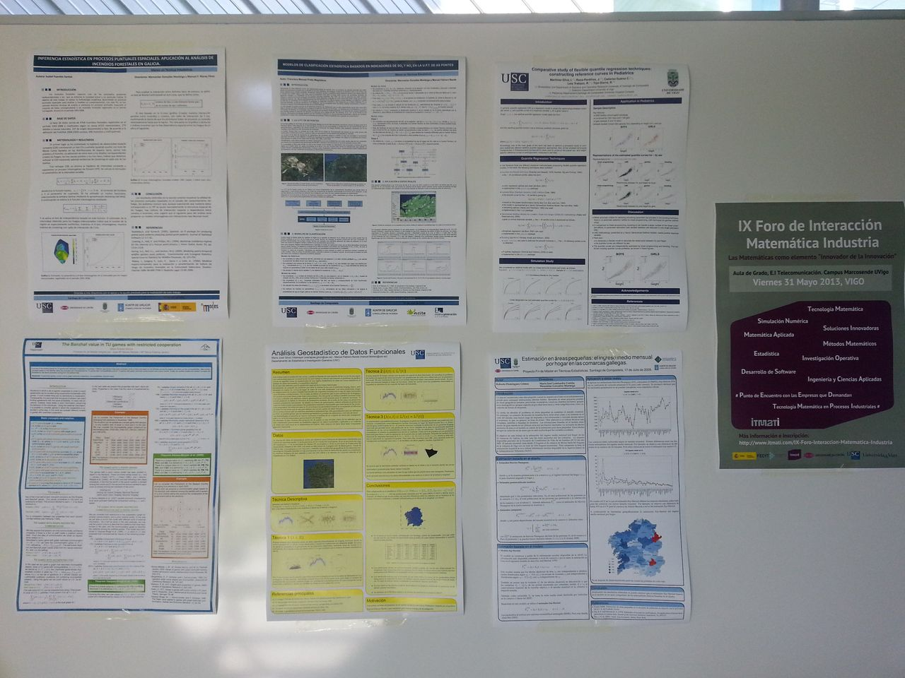 posters matematica industrial