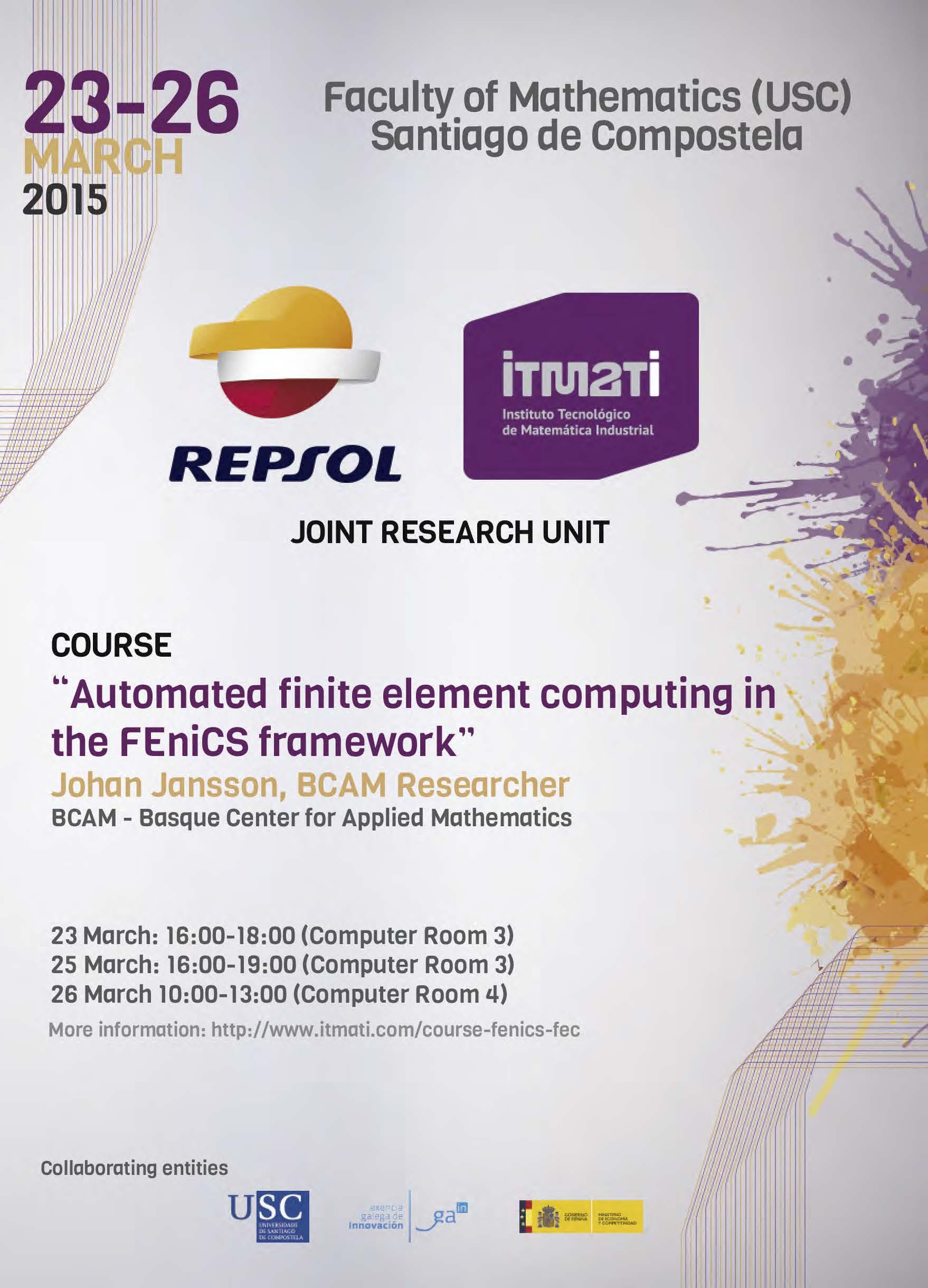 itmati, fenics, matematica industrial, computing
