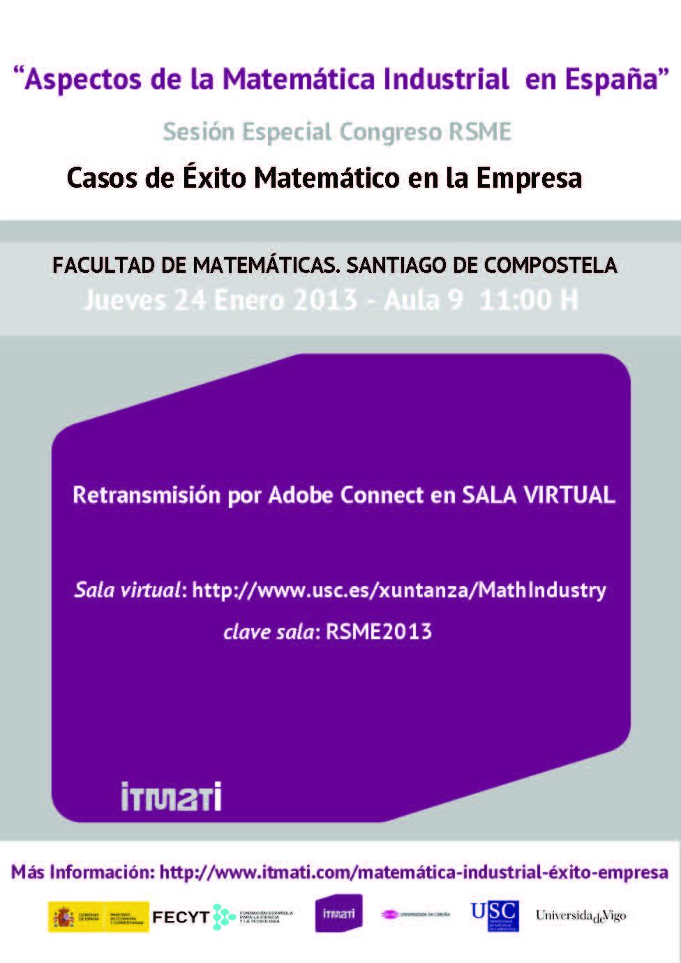 matemática industrial casos de éxito